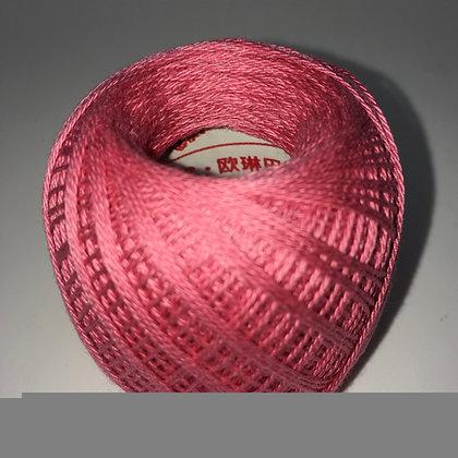 #213 80m FINE mid pink sashiko thread