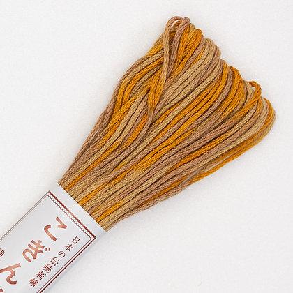 #51 kogin thread golden yellow 18m skein