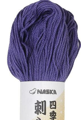 #111 lilac purple 80m stranded sashiko/kogin thread
