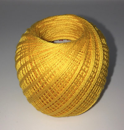 #216 80m FINE bright yellow sashiko thread