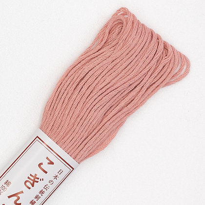 #163 rose pink kogin thread 18m