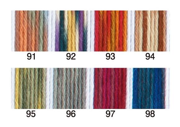 20m sashiko thread NEW colours shaded