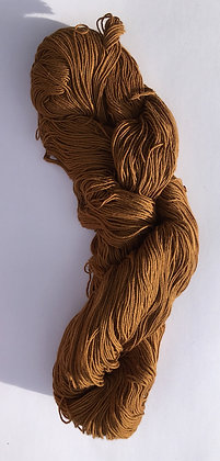 #19 fine sashiko thread 370m skein light brown