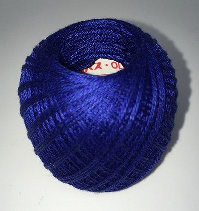 #218 80m FINE deep blue sashiko thread