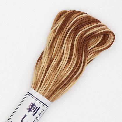 #94 20m sashiko thread mid brown to cream