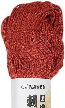 #104 madder red 80m stranded sashiko/kogin thread
