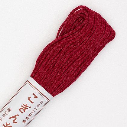 #194 dark red kogin thread 18m