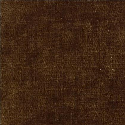 'Boro' patchwork print by Moda - dark brown weave effect