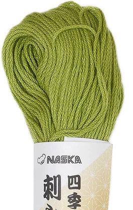 #112 willow green 80m stranded sashiko/kogin thread