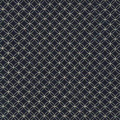 'shippō ' by Sevenberry linen look cotton by 1/2m