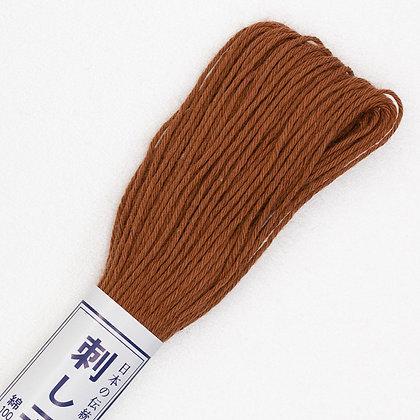 #03  20m sashiko thread mid brown
