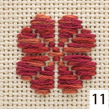 #11 kogin thread maple leaf red 18m skein