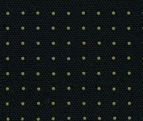 #15 sashiko 5mm dot fabric black by the half metre