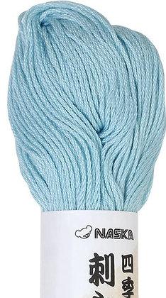 #114 light blue 80m stranded sashiko/kogin thread