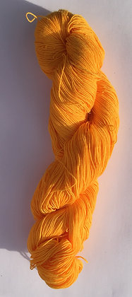 #3 fine sashiko thread 370m skein golden yellow