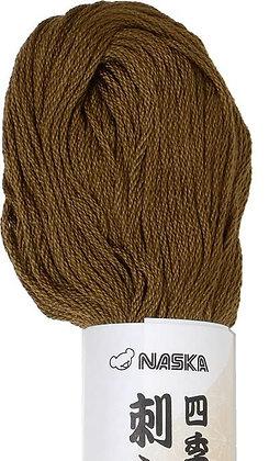 #109 kite brown 80m stranded sashiko/kogin thread