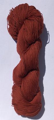 #9 fine sashiko thread 370m skein russet