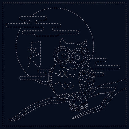 #08 'owl' designer hanafukin panel