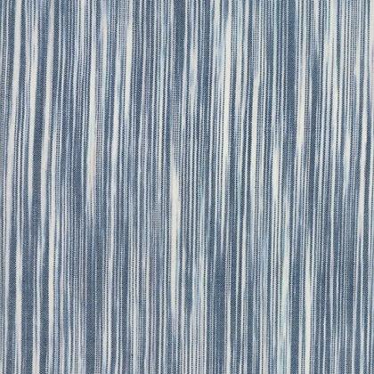 'Boro Wovens' yarn dyed cotton by Moda - blue kasuri stripes