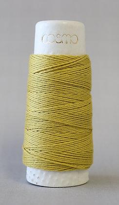 #88-14 Lecien Cosmo Hidamari sashiko thread 30m fine yellow ochre