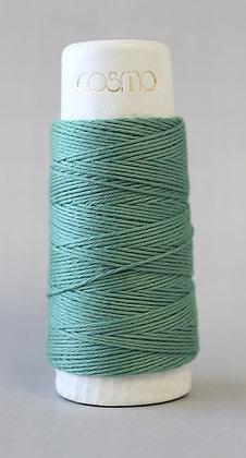 #88-17 Lecien Cosmo Hidamari sashiko thread 30m fine soft jade green