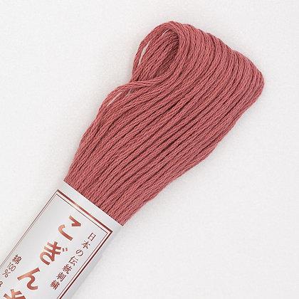 #166 dark rose pink kogin thread 18m