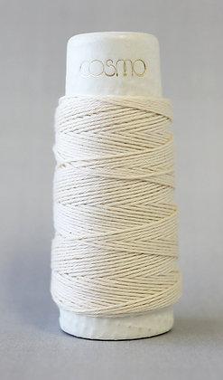 #88-20 Lecien Cosmo Hidamari sashiko thread 30m fine cream