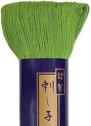 #24 spring green 170m fine Yokota Daruma sashiko thread