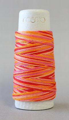 #89-301 Lecien Cosmo Hidamari sashiko thread 30m fine red/pink/orange