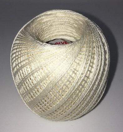 #202 80m FINE cream sashiko thread