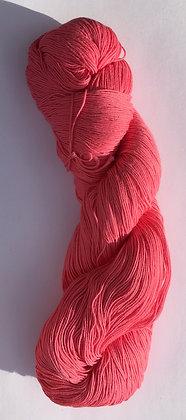 #18 fine sashiko thread 370m skein bubblegum pink