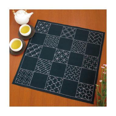#SK290 sashiko sampler panel KIT