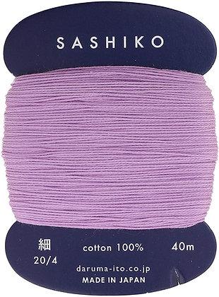 #210 lilac purple 40m fine Yokota Daruma sashiko thread