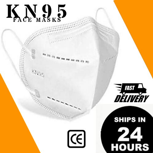 10/50/100/500/1K PCS - CE Certified, KN95 Respirator Masks [ $1.50 - $1.30/PC ]