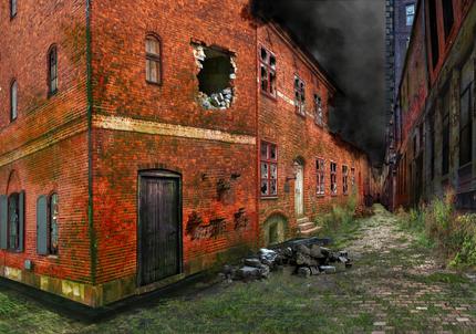 City Composite Apocalyptic
