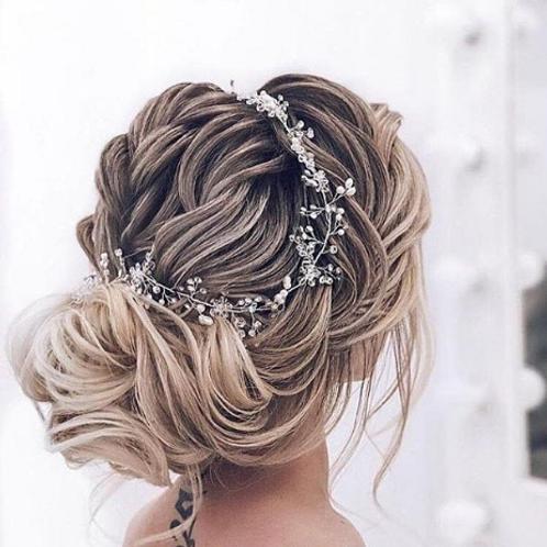 Rhinestone & Pearl Hair Vine
