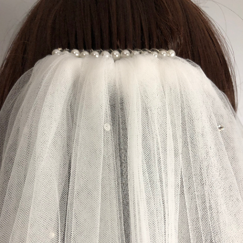 ADD ON: Pearl Hair Comb