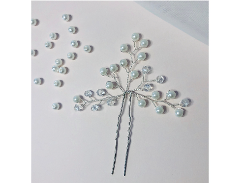 Pearl Branch Hair Pin