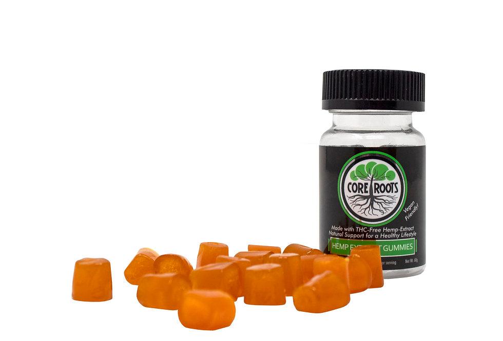 Core Roots Vegan CBD Gummies (20 ct - Original No Added Sugar)