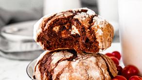 Prääniku brownie valge šokolaadiga