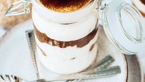 Kohvine ja kreemine üleööpuder