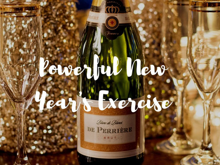 Get out your journal for this powerful New Year's exercise!