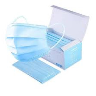 Surgical Masks (Disposable), pack of 50