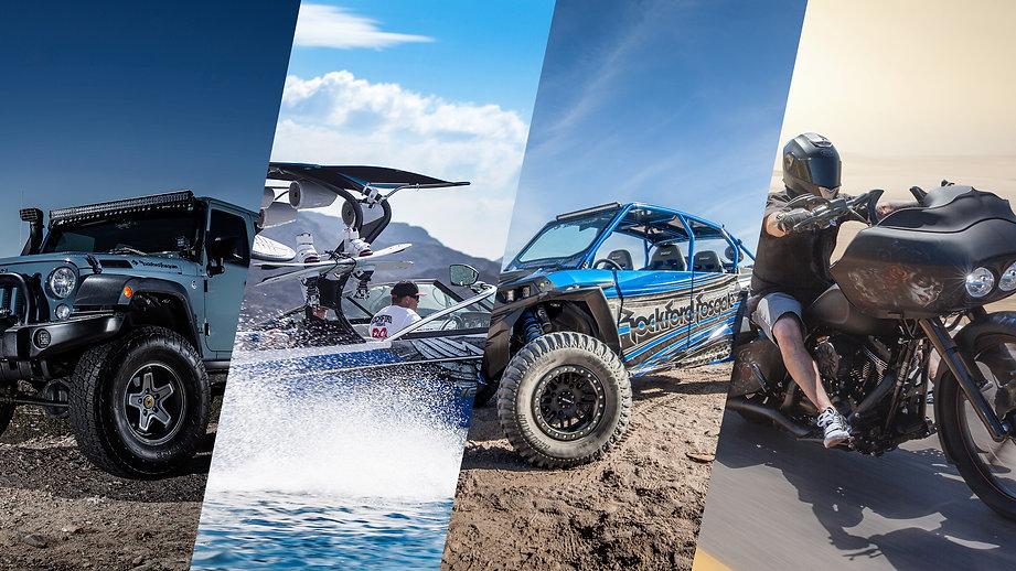 Car Audio, Jeep Audio, Marine Audio, Motorcycle Audio, Powersports audio