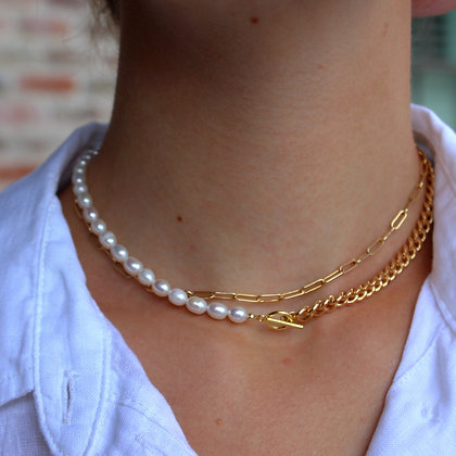 CUBAN PEARL NECKLACE