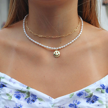 PEARL :D NECKLACE