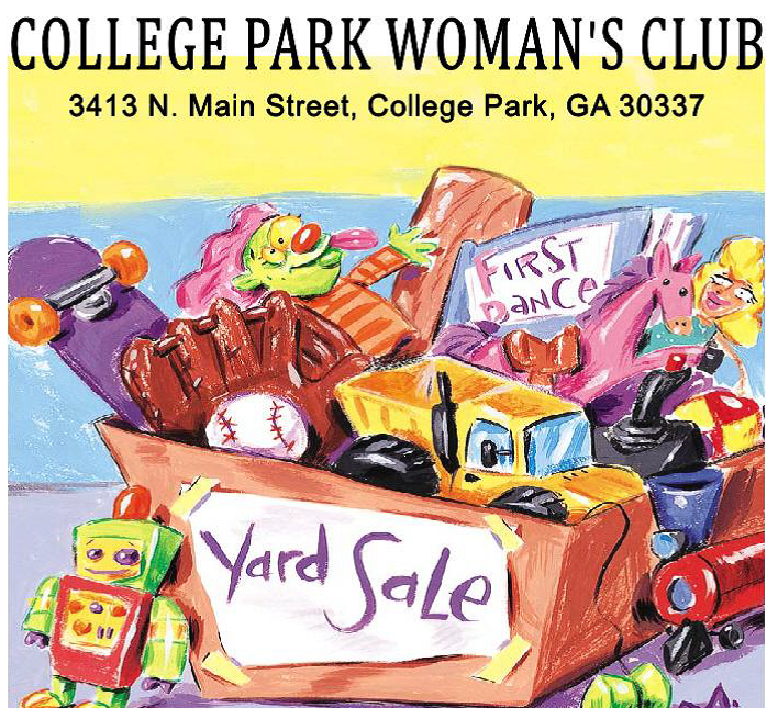 Annual Yard Sale Flyer