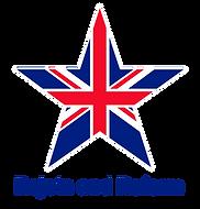 union jack star_THIN WHITE EDGE_BLUE TEX