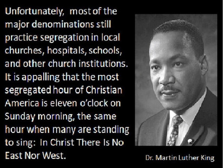 Do you want to be confined to the most racially segregated place?