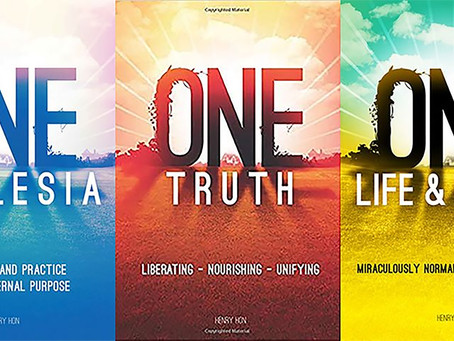 Our message of ONE: in three books